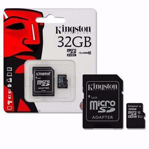 Micro Sd 32gb Clase 10 Kingston