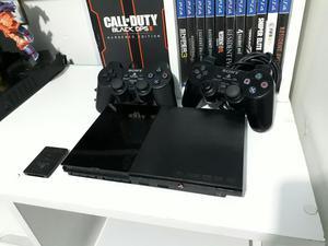 Playstation 2 Slim 15 Juegos 2 Controles