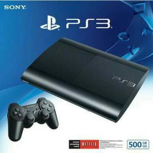 Ps3 Playstation 3 Ultra Slim Nueva 500gb