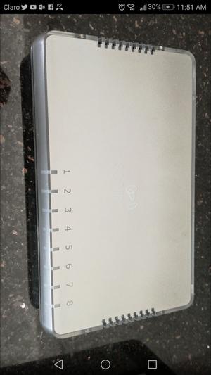 Vendo switch 3com 8 Puertos
