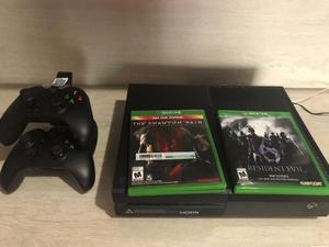 Xbox One 2 Controles 50 Juegos Base Carga