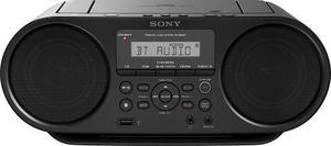 Radio Grabadora Sony Boombox Con Cd Y Bluetooth Zs-rs60bt Ne