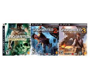 saga completa (uncharted 1.2.3)
