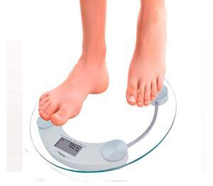 Bascula Digital Personal Balanza Redonda Pesa 150kg Envió