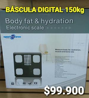 Báscula Pesa Digital Capacidad 150 Kg