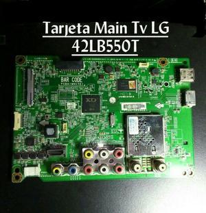 Tarjeta Main Tv Lg. 42lb550t