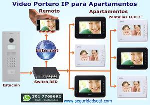 Video Portero con cámara HD para Oficinas, Apartamentos y