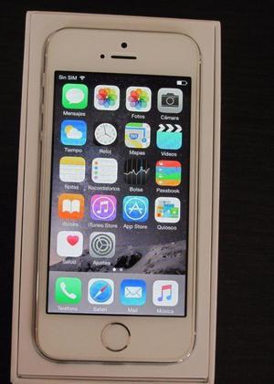 SE VENDE IPHONE 5 BLANCO DE 16GB