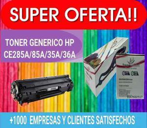 Toner Hp Laserjet Pro M Pw w P Mnf 85a