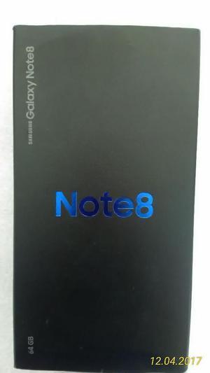 Vendo Samsung Note 8 Nuevo con factua