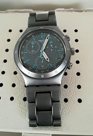 vencambio reloj swatch irony suizo en aluminio original.