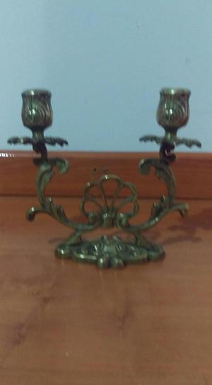 Candelabros en bronce