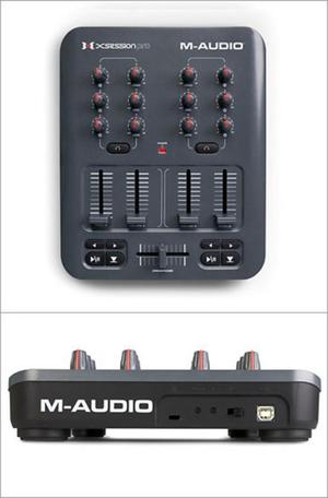 INTERFAZ DE AUDIO M AUDIO XSESSION PRO USB MIDI DJ