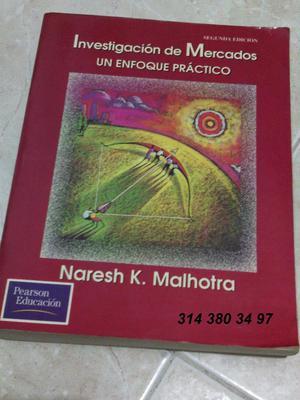 Libro Investigación De Mercados Malhotra 2a Edición Bmanga