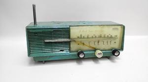 Radio Antiguo Tubos Funcional Transmisor