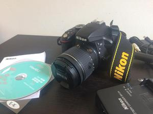 Cámara Nikon D Lente mm 24.2 Megapíxeles Full