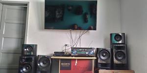 Combo de Tv Y Equipo de Sonido