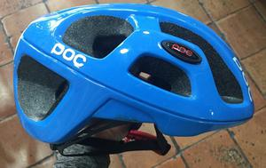 Casco de Ciclismo Marca Poc Azul Tall Ml