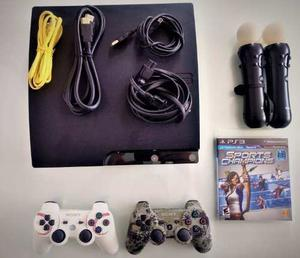 Playstationgb Slim 15 Juegos Ps Move 2 Controles Fifa18