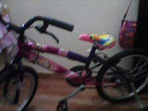 linda bicicleta para niña