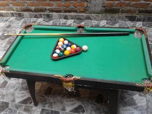 se vende mesa de billar pool de mesa