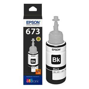Botella De Tinta Color Negro Epson T673