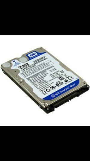 Disco duro de 320gb para porttil