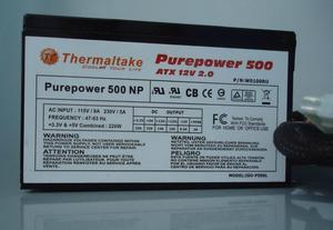Fuente De Poder Thermaltake 500w Wru, Usada Operativa