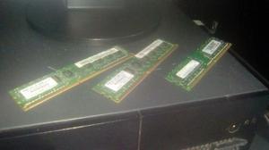 Vendo Memorias ram DDR3 y DDR2