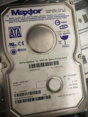 Disco Duro de 80 Gb con Windows 8