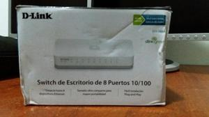 Router Switch Des a 8 Puertos. Esta nuevo