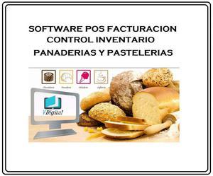 Software Facturacion Pos punto de venta Para Panaderías Y