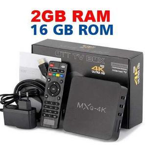 Tv Box Mxq 4k Ultra Hd Wifi Convertidor 2 Gb Ram 16 Gb