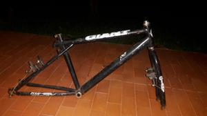 Ganga marco bicicleta todo terreno.