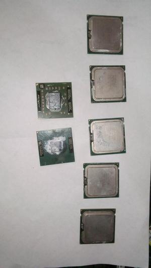 Procesadores Para PC y Portatiles Varias Referencias