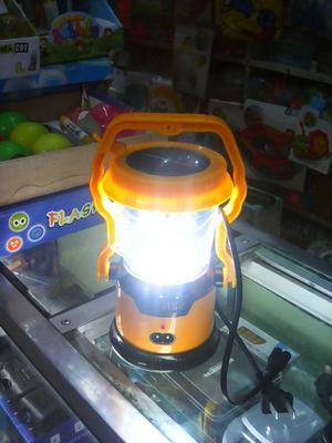 REF:  LAMPARA LINTERNA LED RECARGABLE CON LA LUZ SOLAR Y