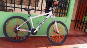 Se Vende Bicicleta Blanca On Trail 27.5