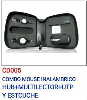 se vende combo de mouse inalambrico