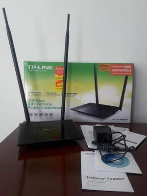 Combo WIFI router alta potencia inalambrico, camara ip,