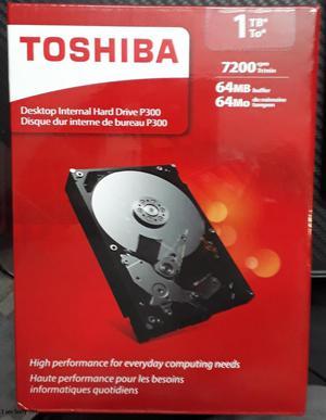 DISCO DURO PARA PC TOSHIBA DE 1 TERABYTE NUEVO