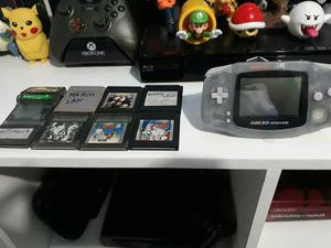 Game Boy Advance Con 8 Juegos Originales