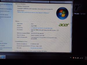 Portatil Acer aspire , AMD A8 Quad core, 4G de ram.