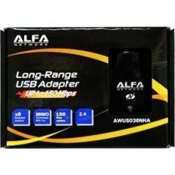 Adaptador Usb Alfa Network Awus036nha 2w  B/g/n