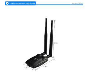 Antena Usb Wifi Alto Poder 300mbps Largo Alcace
