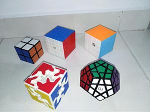 Cubos de Rubik 2x2 4x4 5x5 Gear Megaminx