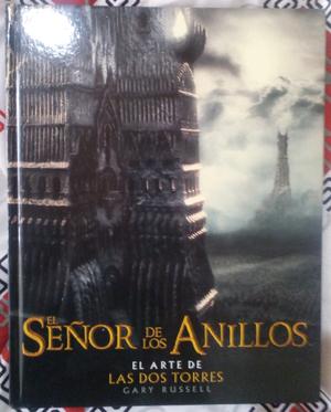 Libro ilustrado del Sr de Los Anillos, las dos torres