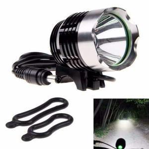 Luz Bicicleta Linterna  Lm Recargable Factura Garantía