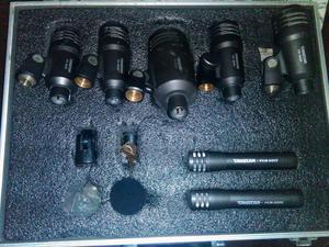 kit de micrófonos para batería