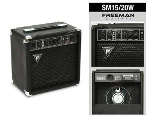Amplificador De Guitarra 15w Freeman Sm15 Superguitar15
