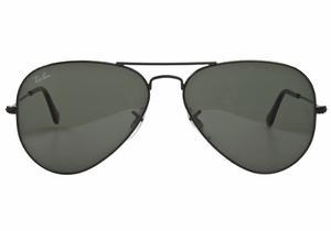 Gafas Ray Ban Rb L Aviator Marco Negro/lente Negro
